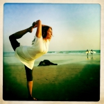 NATARAJASANA @ the beach