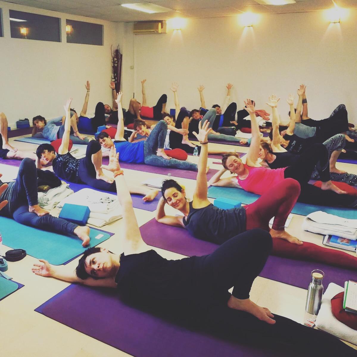 INMERSION de Anusara yoga en EUSKADI