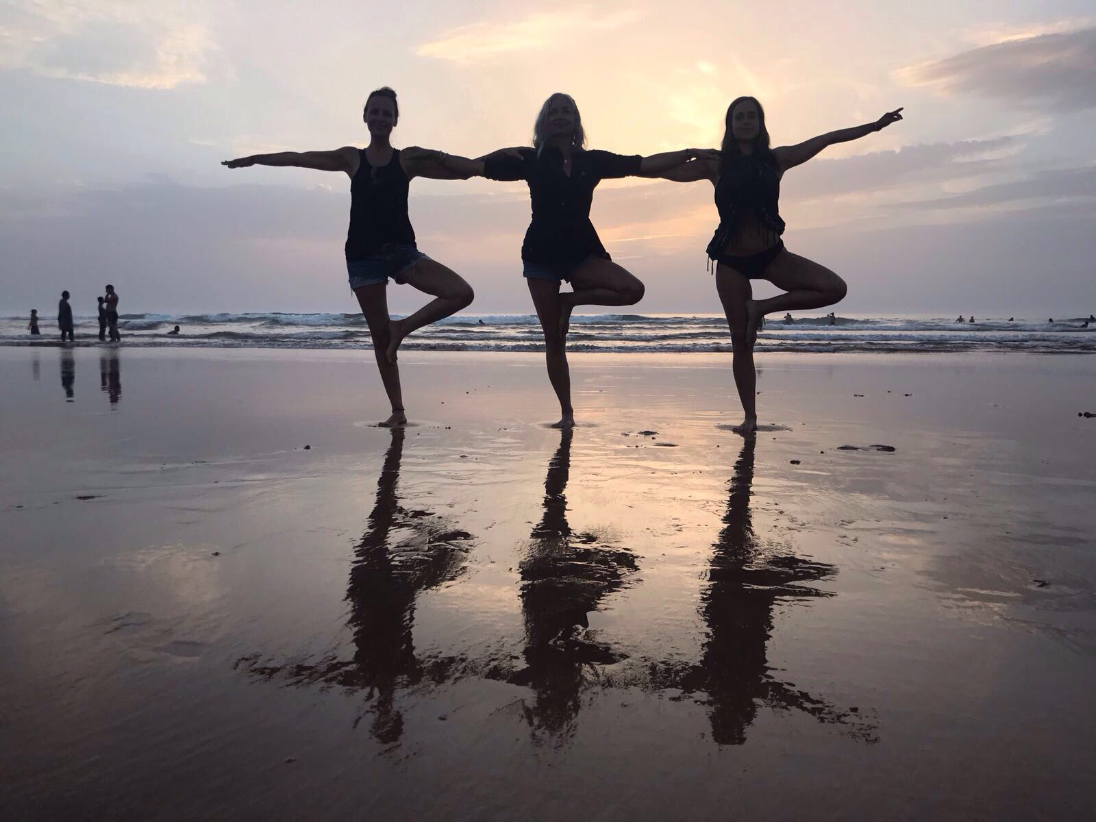Yoga y Surf en Navidades