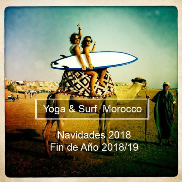 Surf y yoga en Marruecos. Vacaciones de yoga y surf en Marruecos con Susana García Blanco