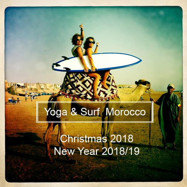 Yoga & Surf Marruecos