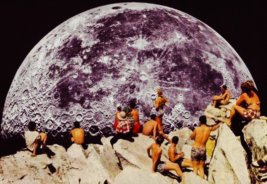 Full Moon in Aquarius:  me & the collective