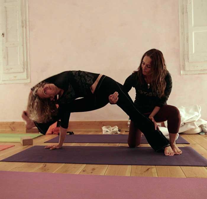 Curso de yoga terapéutico y anatomía