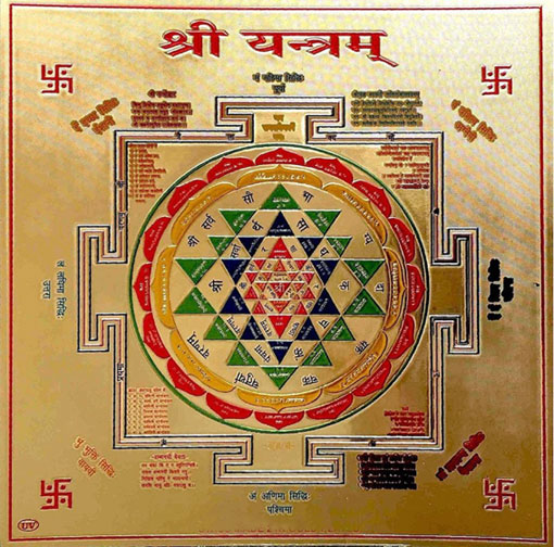 Sri-Chakra o Sri Yantra
